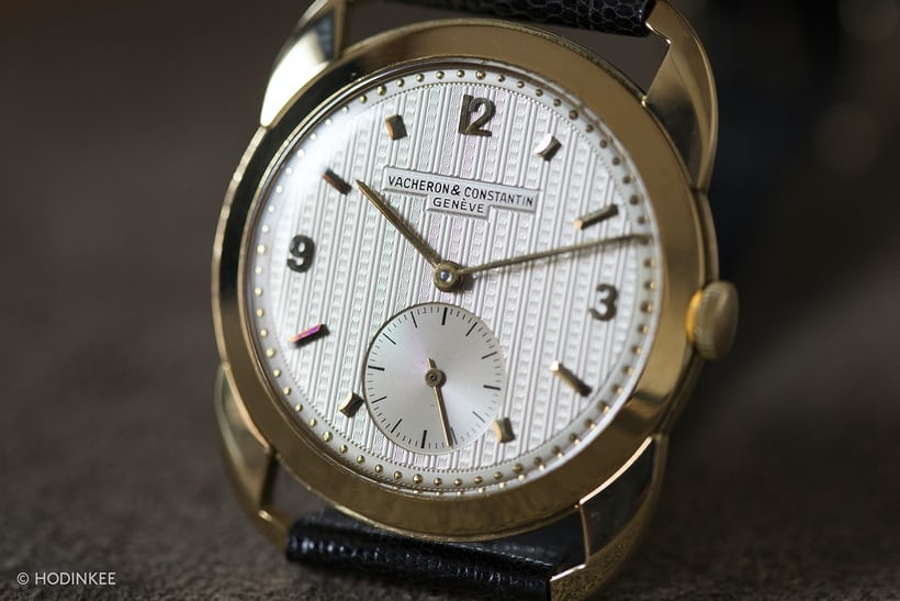 Vacheron Constantin With Guilloche Dial And Claw Lugs