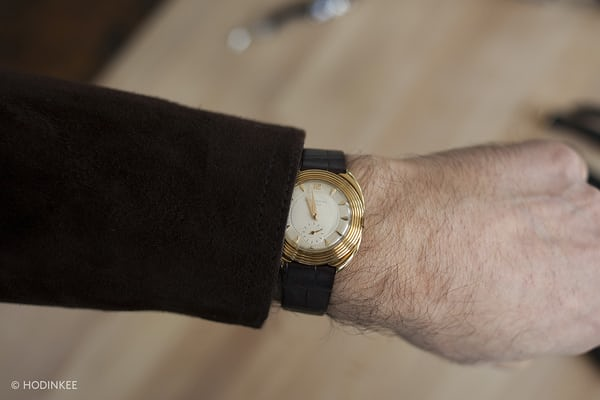 Patek Philippe Reference 2550 wrist shot