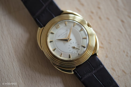 Patek Philippe Reference 2550 closeup