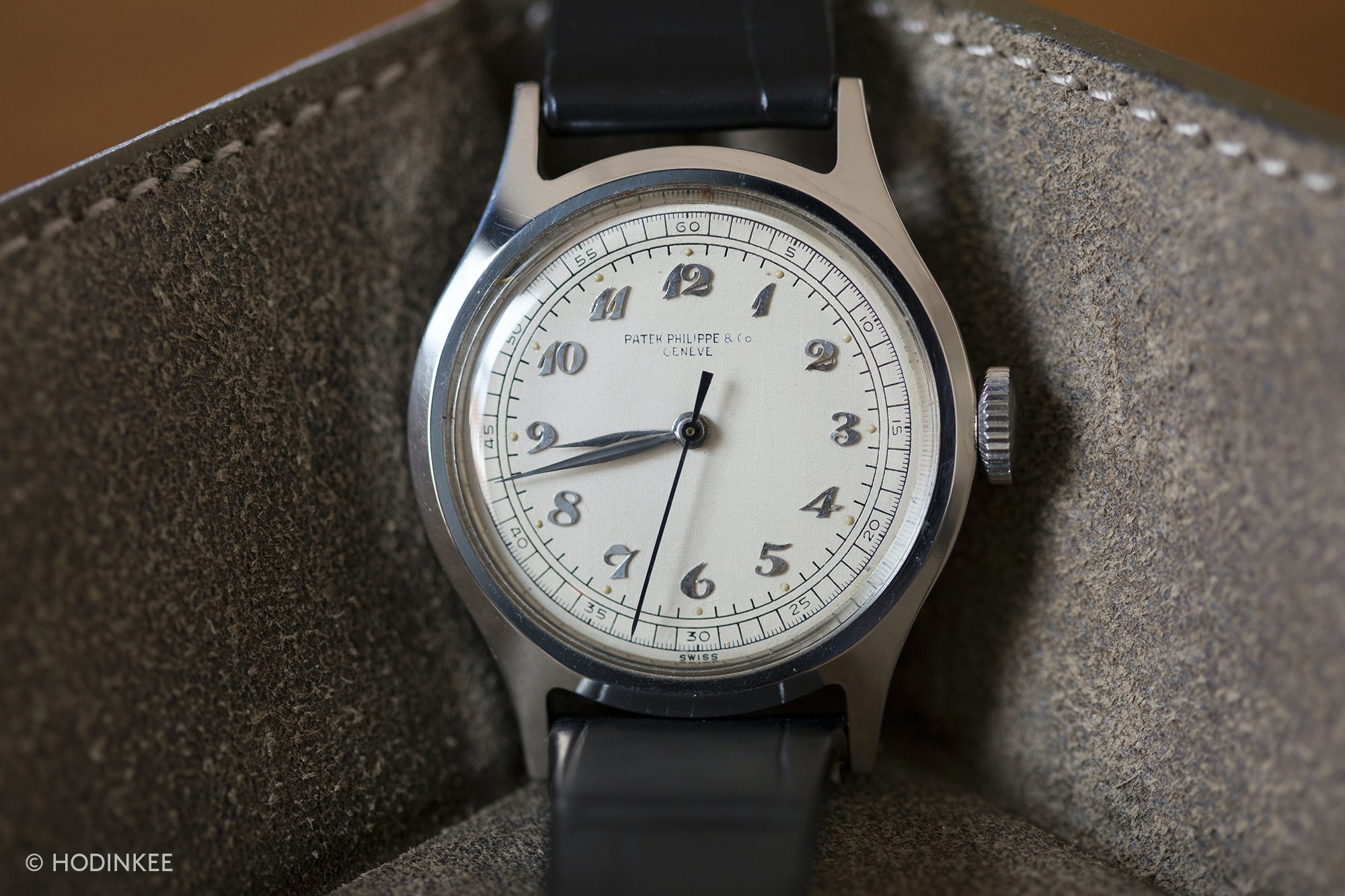 Patek Philippe Reference 565 In Steel With Breguet Numerals Talking Watches: With Roni Madhvani Talking Watches: With Roni Madhvani 20010232 copy