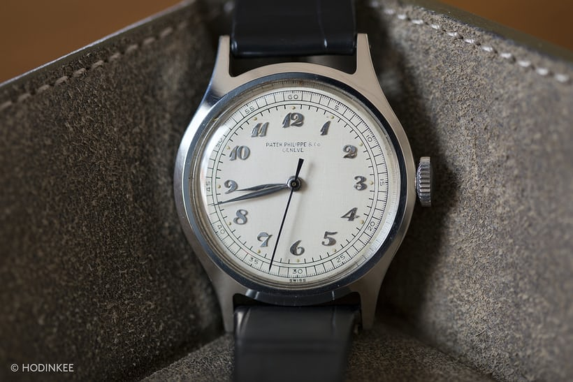 Patek Philippe Reference 565 In Steel With Breguet Numerals
