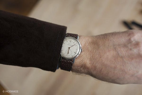 Patek Philippe Amagnetic Reference 3417 wrist shot