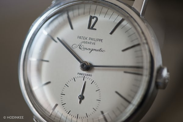Patek Philippe Amagnetic Reference 3417 closeup