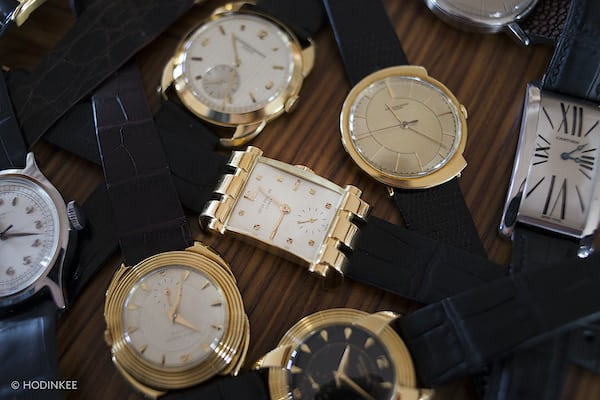Patek Philippe Amagnetic Reference 3417 group shot