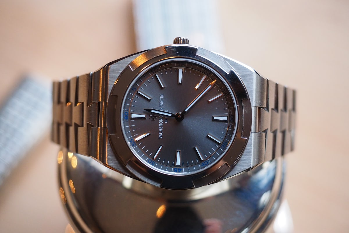 Vacheron Constantin Overseas Ultra-Thin side dial