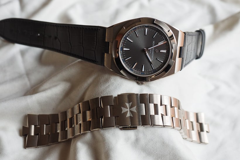 Vacheron Constantin Overseas Ultra-Thin strap and bracelet comparison