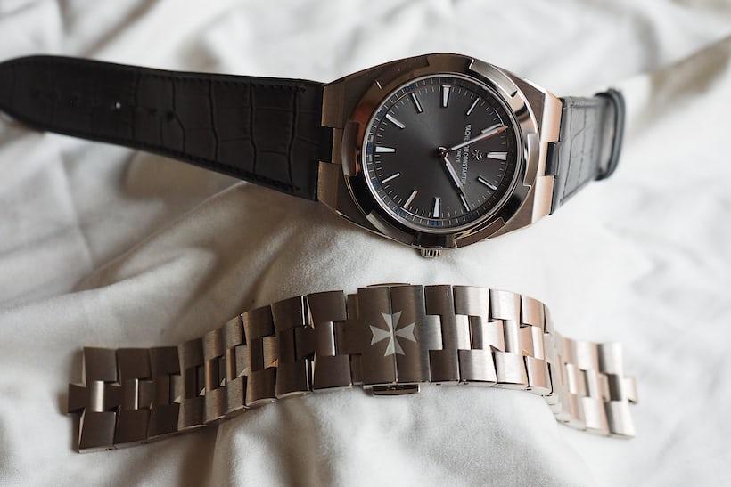 Vacheron Constantin Overseas Ultra-Thin strap and bracelet comparison