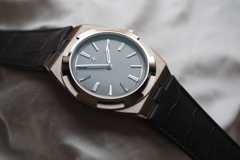 Vacheron Constantin Overseas Ultra-Thin on alligator