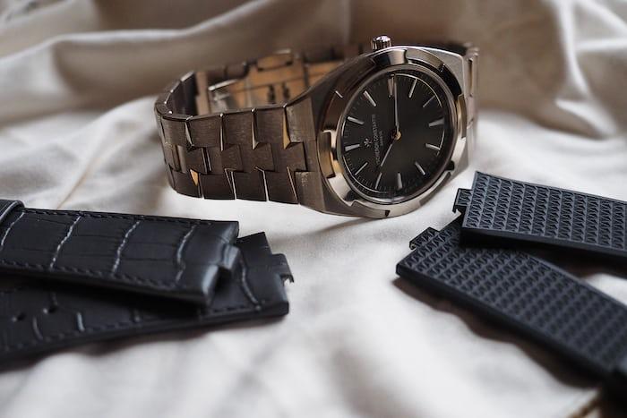 Vacheron Constantin Overseas Ultra-Thin with strap options