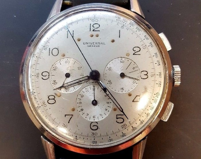 Universal Geneve Compax 22430