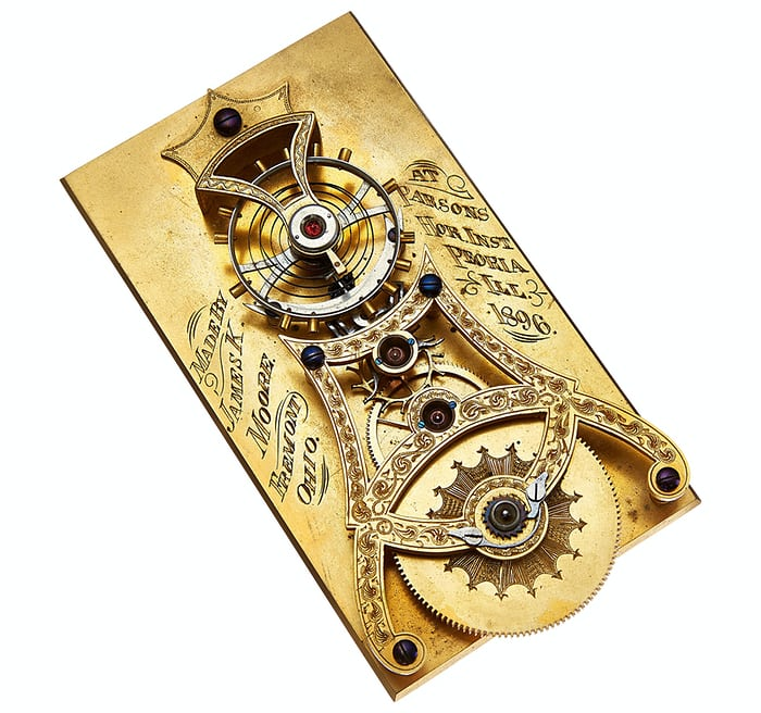 Albert Meyer Spring Detent Chronometer Escapement Model