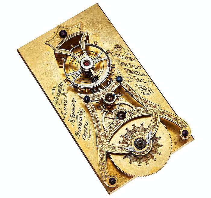 Albert Meyer Spring Detent Chronometer Escapement Model