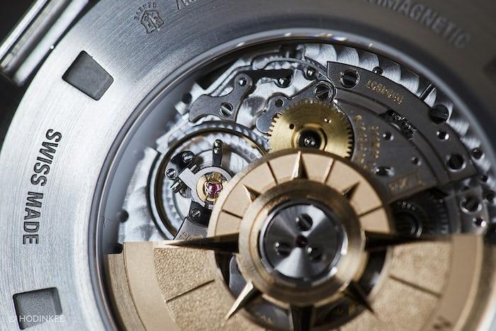 The Vacheron Constantin Overseas World Time movement closeup