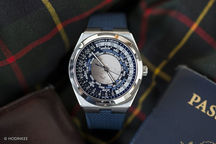 The Vacheron Constantin Overseas World Time dial lifestyle