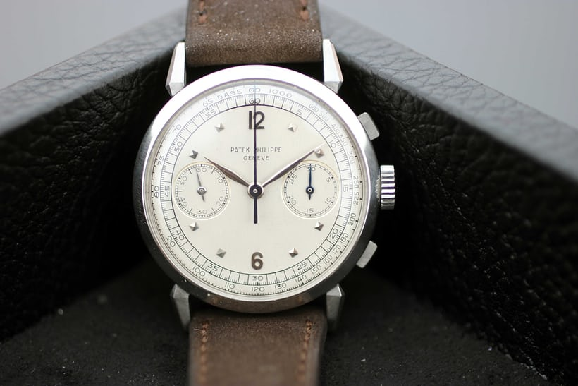 "Lot 75 - Patek Philippe ""Anse a Ragno""; Sold for CHF677,000"