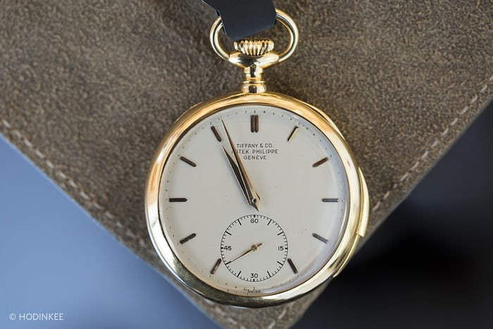 Lot 174 – Patek Philippe Yellow-Gold 'Tiffany' Minute Repeater