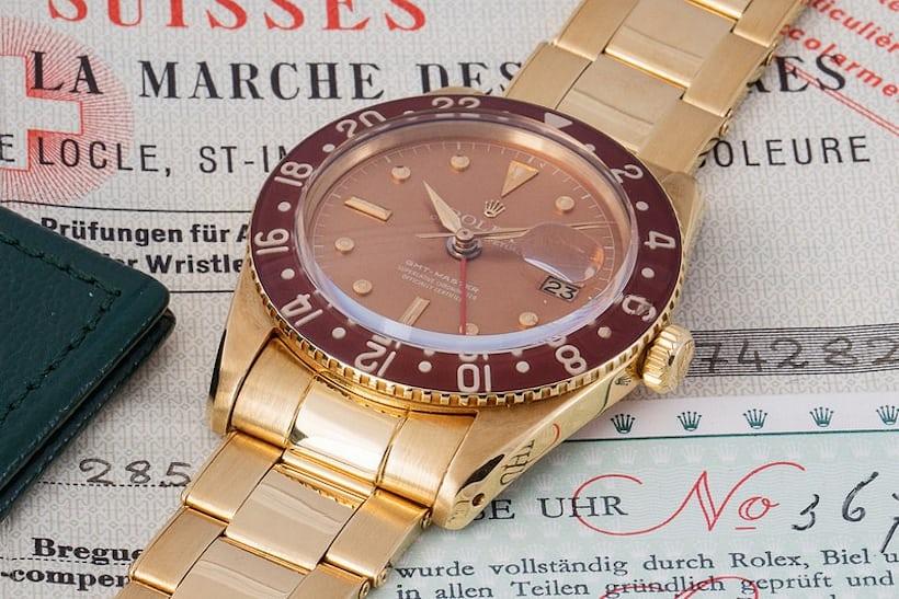 Lot 190 Rolex Ref 6542 Bakelite
