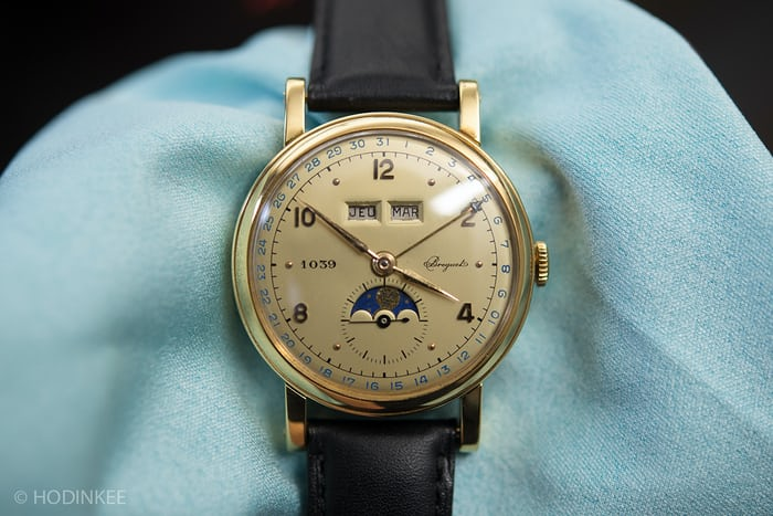 A Breguet triple calendar chronograph from 1952
