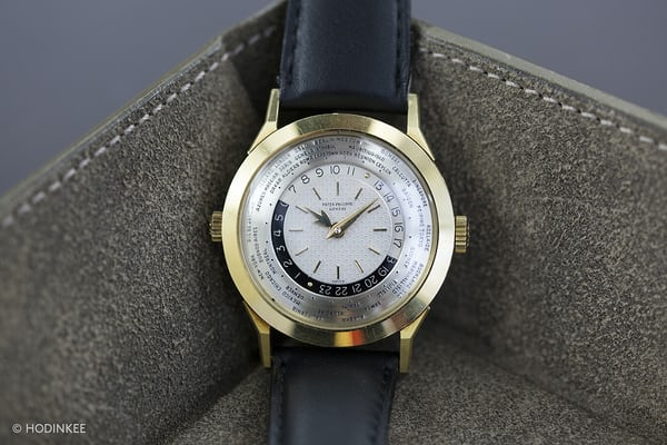 Lot 117: Patek Philippe Dual-Crown World-Timer Reference 2523/2