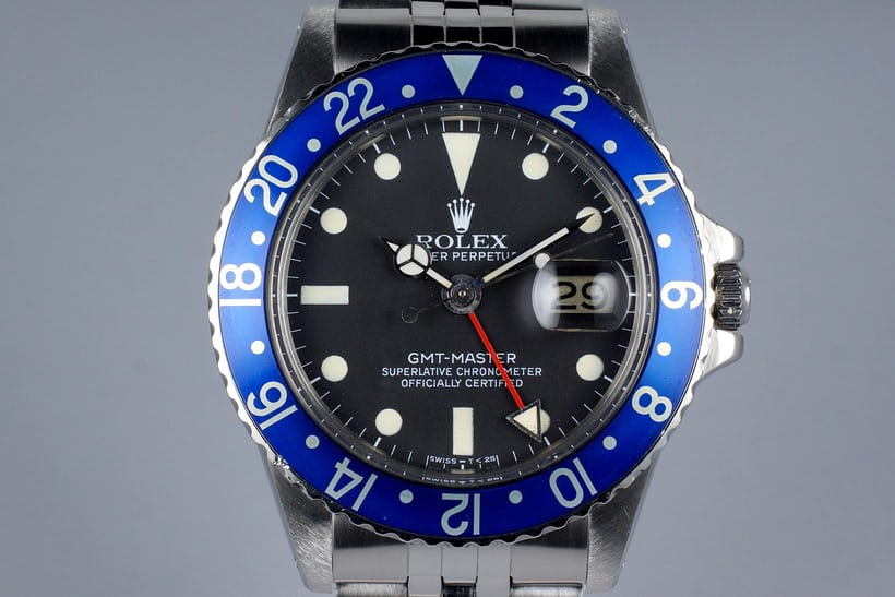 Rolex GMT-Master 1675 Blueberry