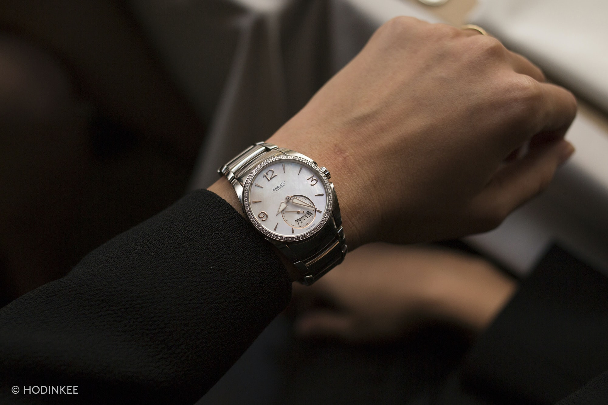 The Tonda Metropolitaine. Photo Report: A Collectors' Dinner With Parmigiani Fleurier Photo Report: A Collectors' Dinner With Parmigiani Fleurier 20010732 copy