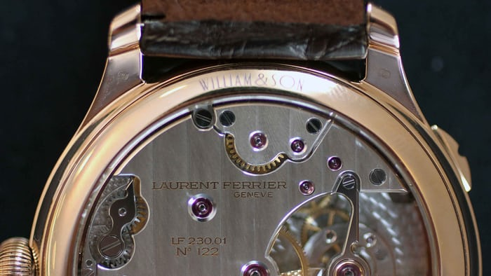 Galet Traveller Globe Night Blue for William & Son Movement