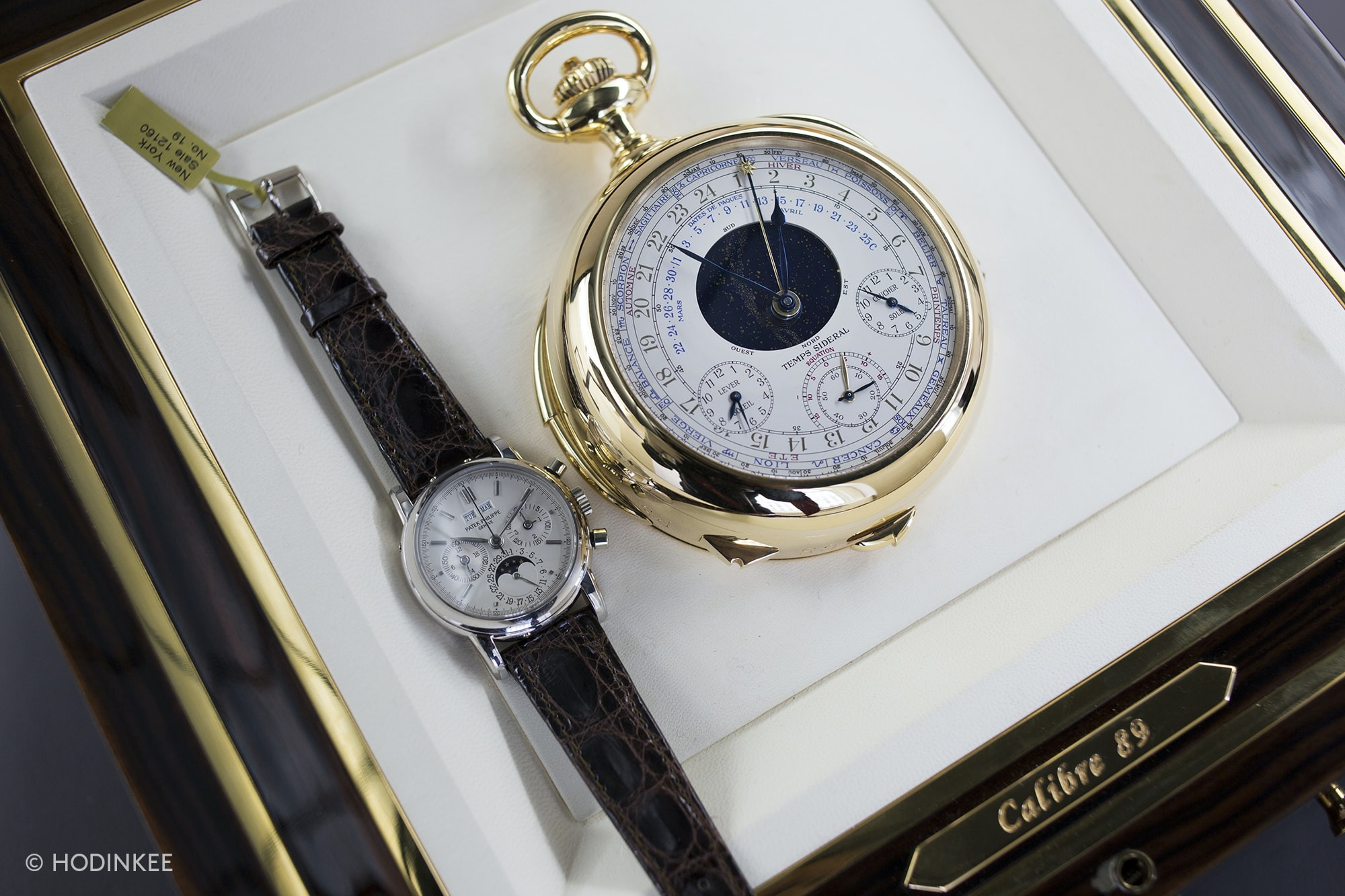 Hands-On: A Patek Philippe Caliber 89, For Sale At Christie's New York Hands-On: A Patek Philippe Caliber 89, For Sale At Christie's New York 20010035 copy