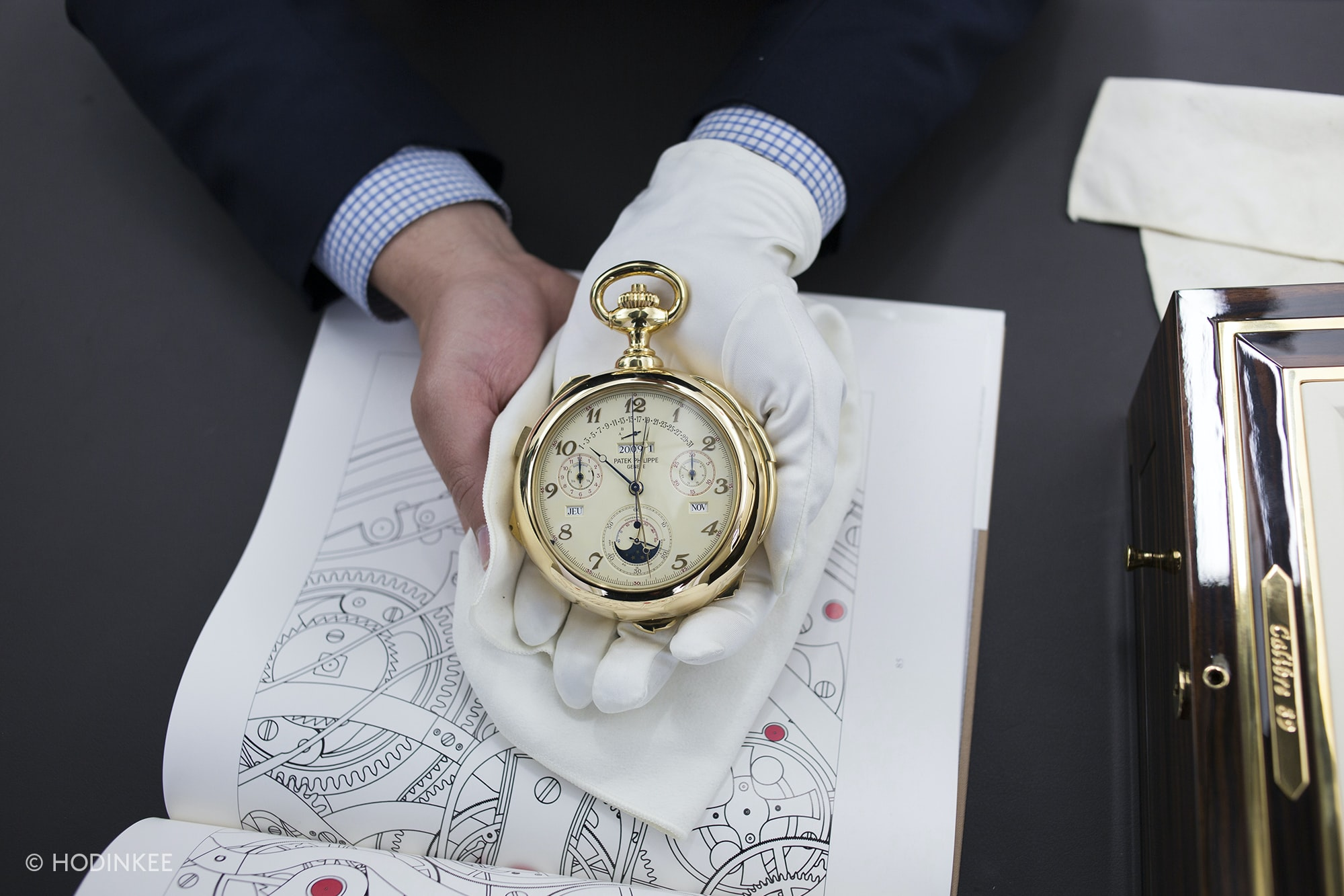 Hands-On: A Patek Philippe Caliber 89, For Sale At Christie's New York Hands-On: A Patek Philippe Caliber 89, For Sale At Christie's New York 20019987 copy