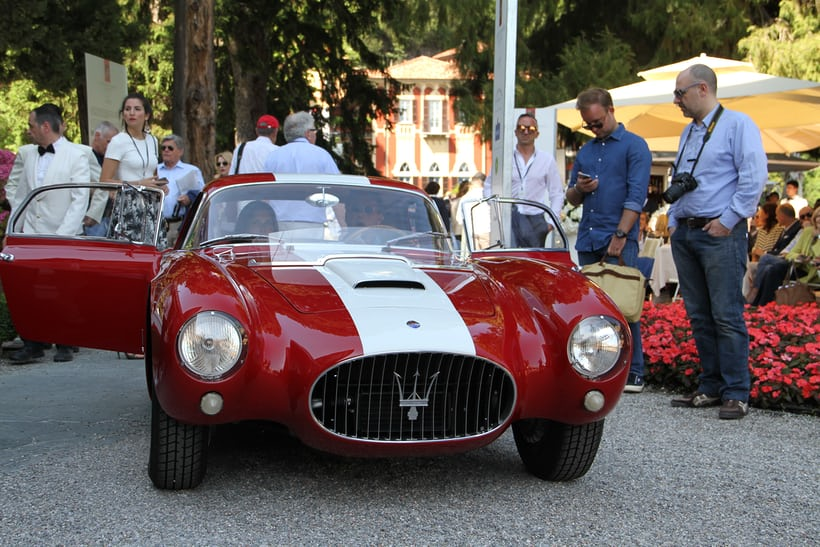The winning Maserati A6 GCS.
