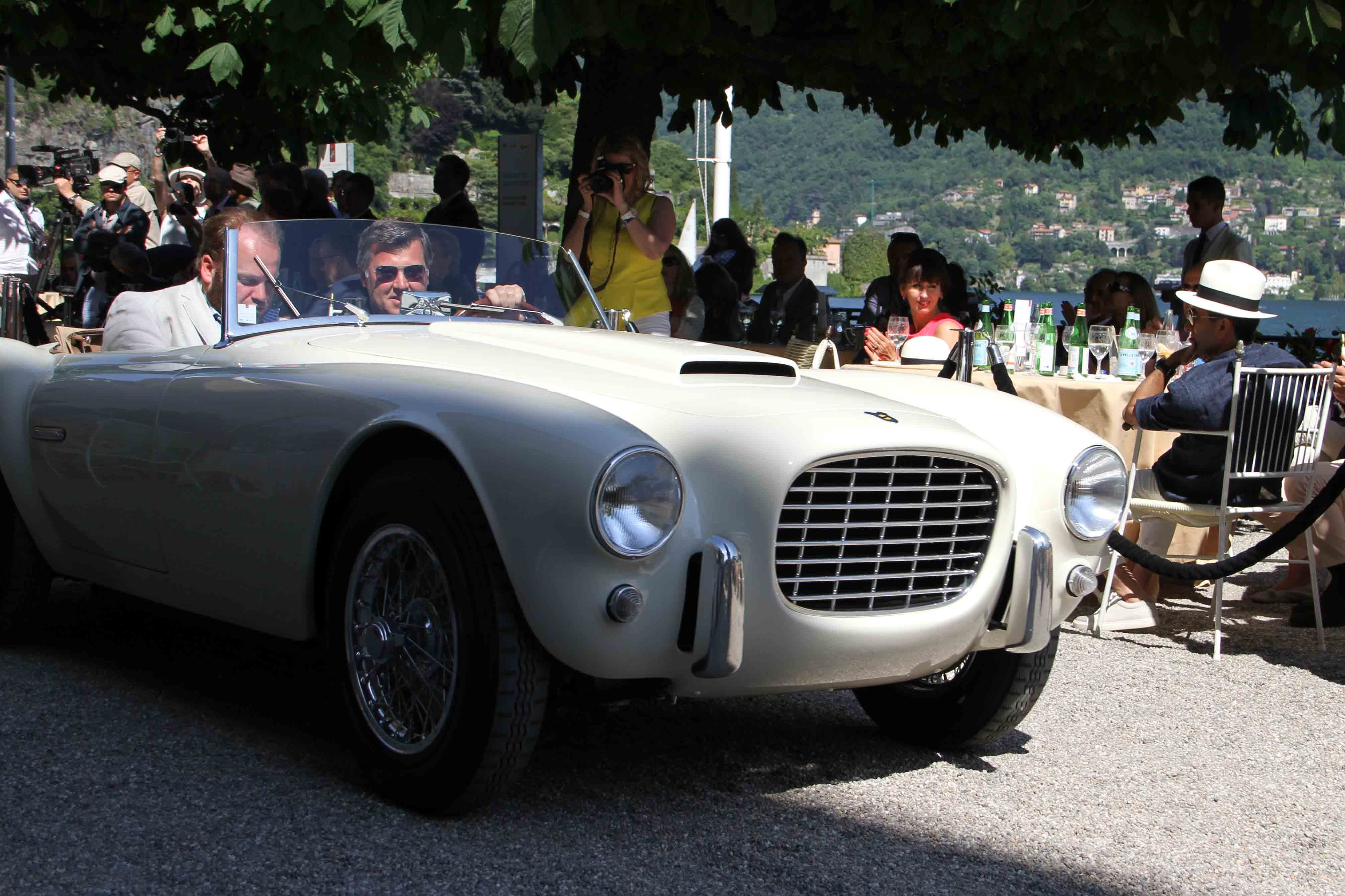 Siata 208 S, 1954. Photo Report: Watch And Car Spotting At The 2016 Concorso d'Eleganza Villa d'Este With A. Lange & Söhne Photo Report: Watch And Car Spotting At The 2016 Concorso d'Eleganza Villa d'Este With A. Lange & Söhne IMG 5501