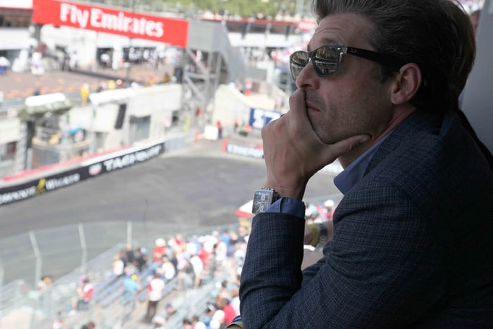 Watch Spotting Patrick Dempsey Wearing A Monaco In Monaco During