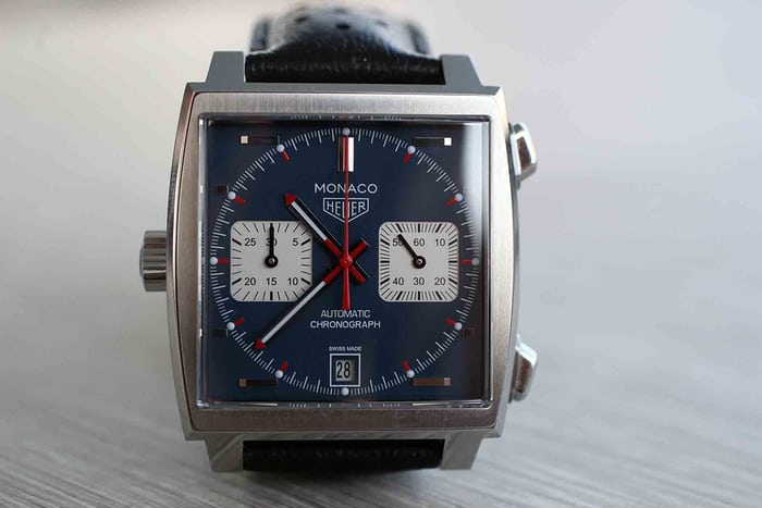 The TAG Heuer Monaco Calibre 11 'McQueen' Chronograph.
