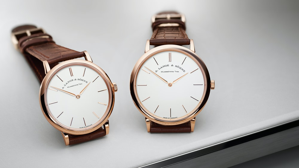 Introducing: The A. Lange & Söhne Saxonia Thin In 37mm