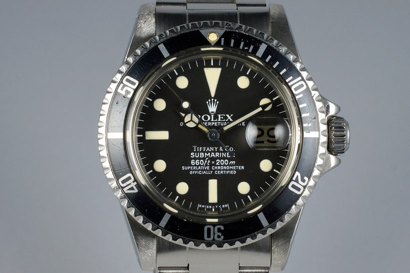 Rolex Submariner 1680 Tiffany