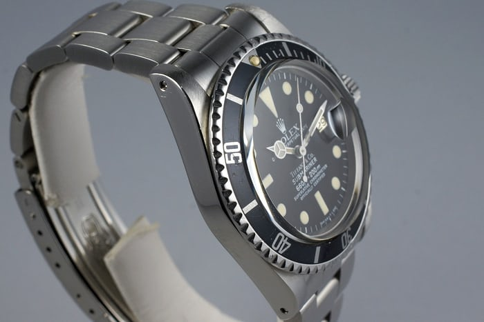 Rolex Submariner 1680 Top hat plexi