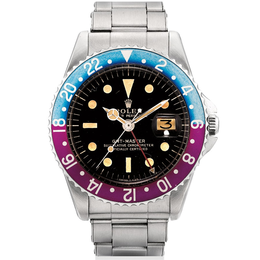 Lot 25 - Rolex GMT-Master Ref. 1675  Another Record-Breaking Auction Or An Overdue Reality Check? Results And Analysis From The Phillips Hong Kong Watch Sale: Two. Another Record-Breaking Auction Or An Overdue Reality Check? Results And Analysis From The Phillips Hong Kong Watch Sale: Two. 25