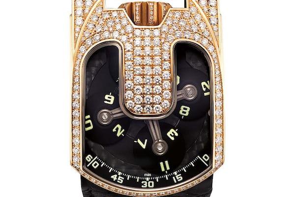 Lot 127 - Urwerk UR-103 with diamond-set case.