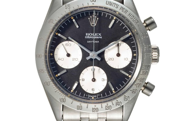 "Lot 144 - Rolex 6239 ""Floating Daytona"" with JB Champion bracelet."