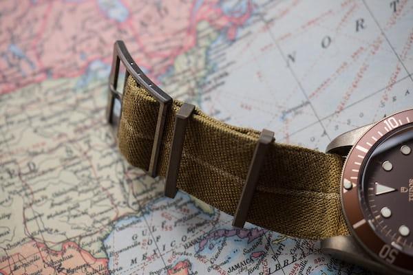 black bay bronze strap