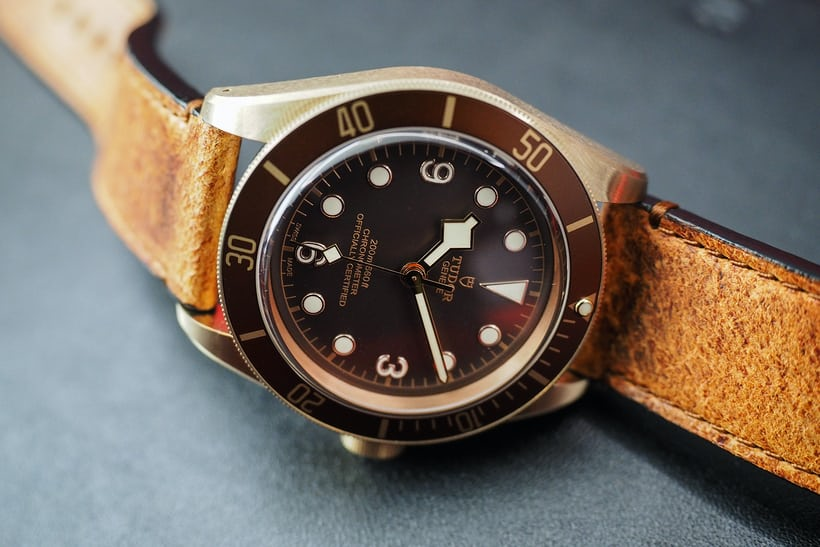black bay bronze new