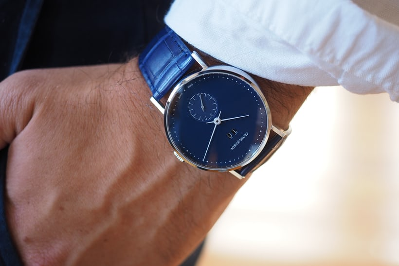 Hands On The Georg Jensen Koppel Grande Date Small Seconds