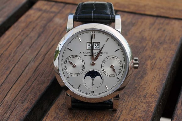 The A. Lange & Söhne Saxonia Annual Calendar Face