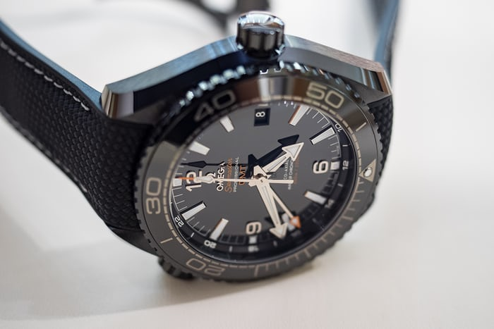 planet ocean deep black black bezel