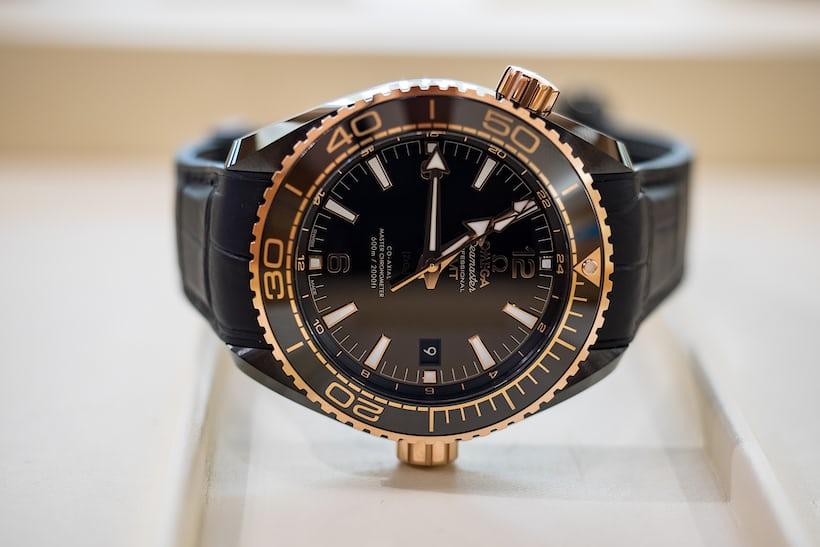 planet ocean deep black sedna gold