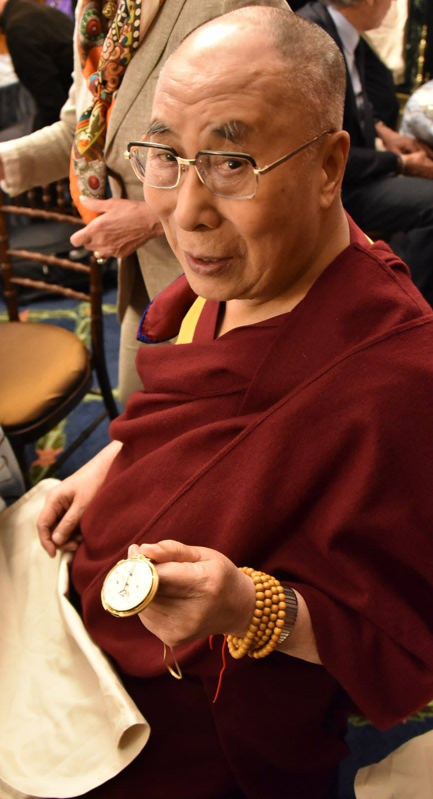 Found: The Dalai Lama's Patek Philippe, Gifted By FDR Via An OSS Officer Who Was The Grandson Of Leo Tolstoy (Seriously) Found: The Dalai Lama's Patek Philippe, Gifted By FDR Via An OSS Officer Who Was The Grandson Of Leo Tolstoy (Seriously) 13391563 1095565817148258 2303877044127700143 o