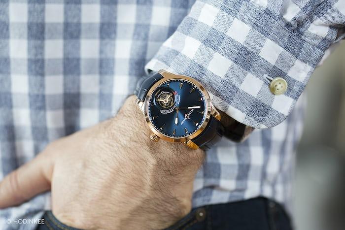 Ulysse Nardin Anchor Tourbillon on the wrist