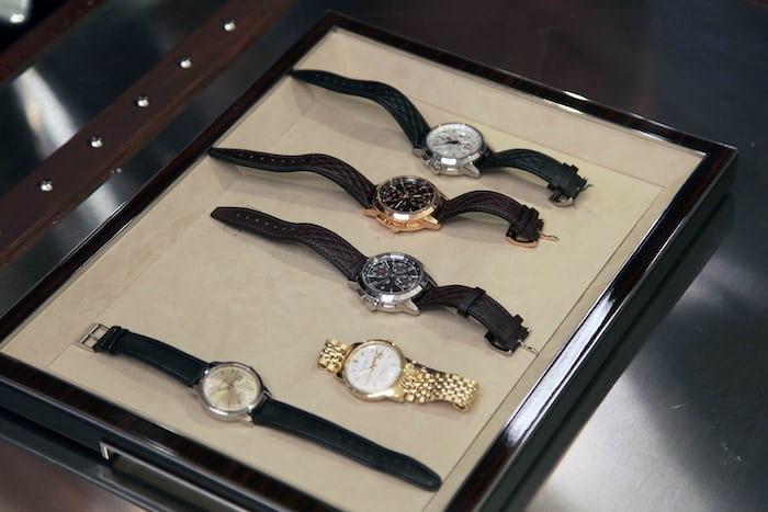 "IWC Ingenieur Chronograph Edition ""Rudolf Caracciola"" with vintage Ingenieurs"