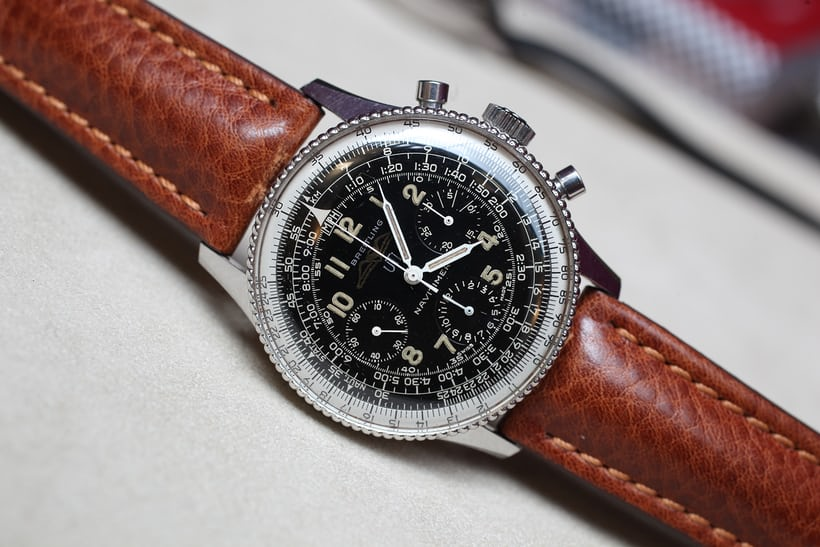 Breitling Navitimer 806 all black dial