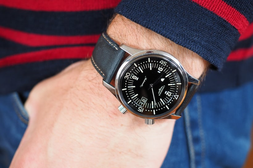 A Week On The Wrist The Longines Legend Diver Hodinkee