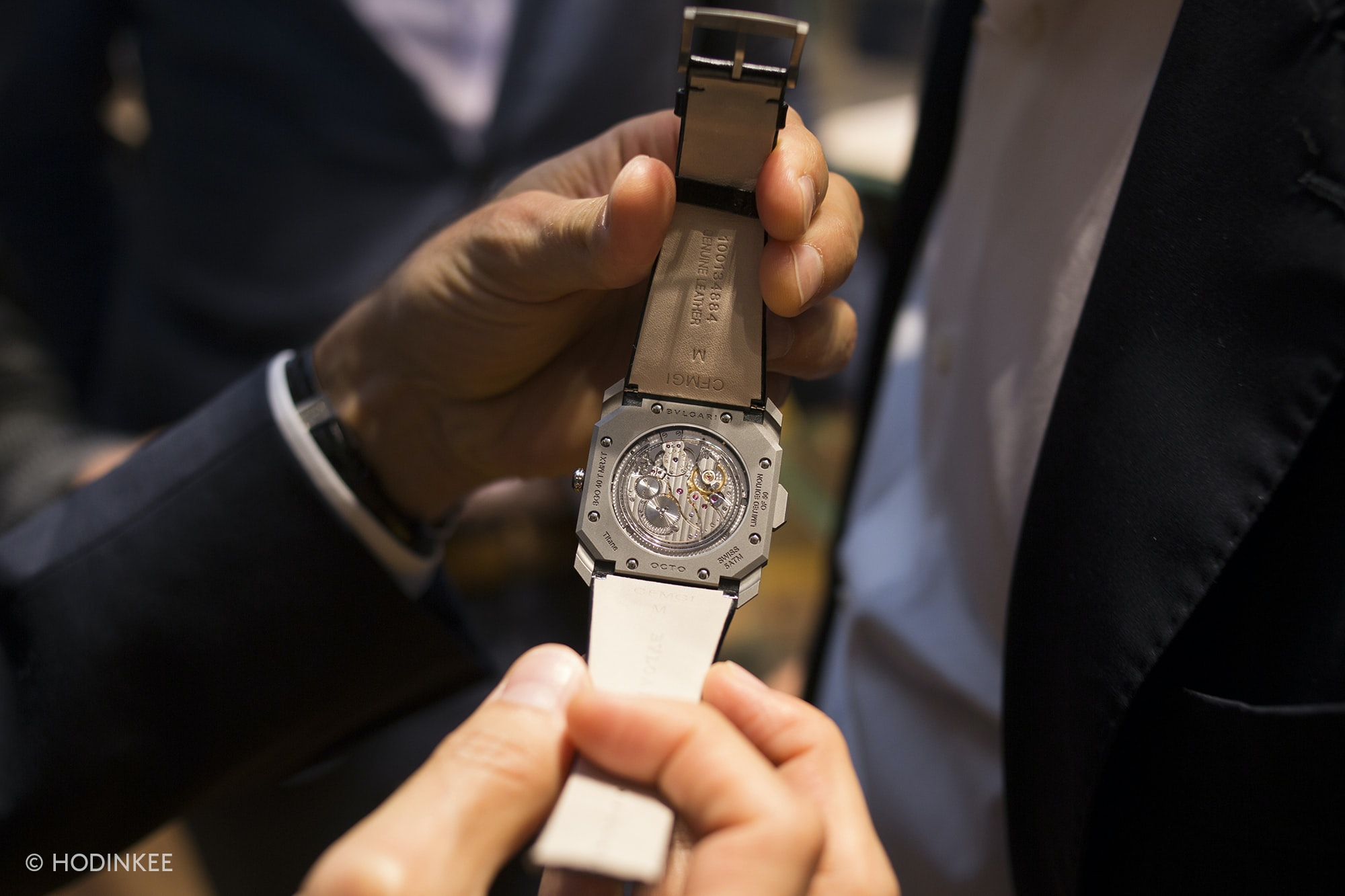 Photo Report: The Bulgari x HODINKEE Celebration Of The Octo Finissimo Minute Repeater In New York City Photo Report: The Bulgari x HODINKEE Celebration Of The Octo Finissimo Minute Repeater In New York City 20019918 copy